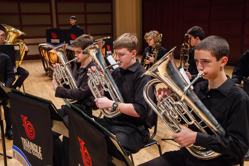 About the Triangle Youth Brass Bands | Triangle British Brass Band